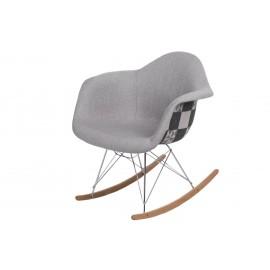 Krzesło P018 RAR Pattern szare/patchwork