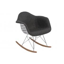 Krzesło P018 RAR Pattern szare/pepitka