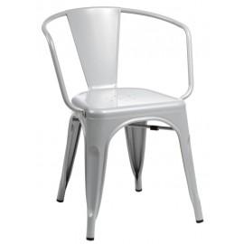Krzesło Paris Arms szare inspirowane Tol ix