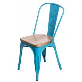 Krzesło Paris Wood nieb. sosna naturalna