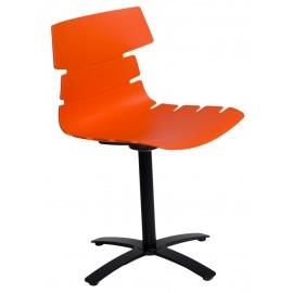 Krzesło Techno One pomarańczowe