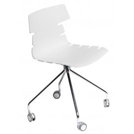 Krzesło Techno Roll białe