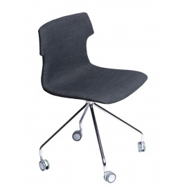 Krzesło Techno Roll tap. grafitowe