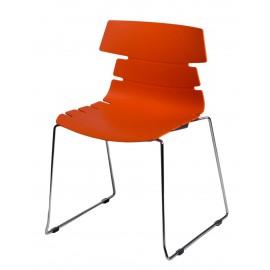 Krzesło Techno SL pomarańczowe