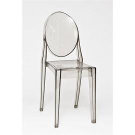 Krzesło Viki szary transp.