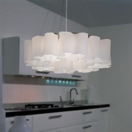 Lampa Chmurki 8 kloszy