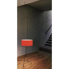 Lampa Totora klosz biały średnica 45 cm