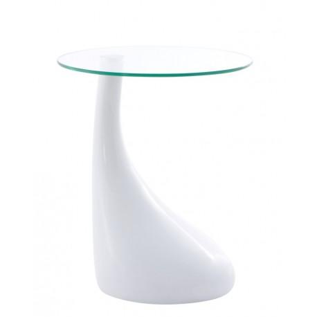 Stolik Łza biały