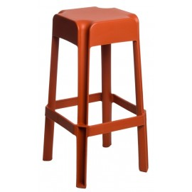 Stołek barowy Sarjeta orange