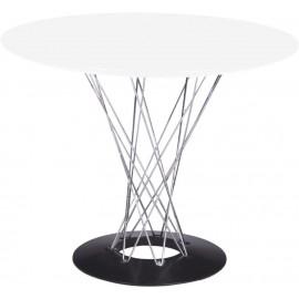 Stół Cyklon okrągły biały
