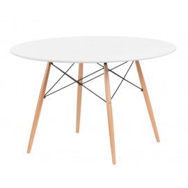 Stół DTW 120 cm blat biały