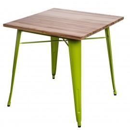 Stół Paris Wood zielony jasny jesion