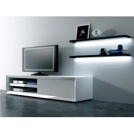 Szafka RTV Smart szuflada biała
