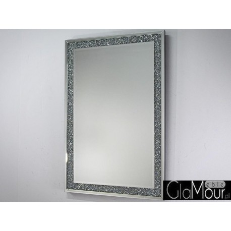 Eleganckie lustro w lustrzanej ramie TM8109 80x120cm