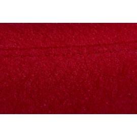 Podnóżek Jajo szeroki wełna czerwony JA-2712
