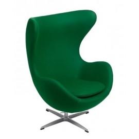 Fotel Jajo zielony kaszmir 35 Premium