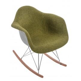 Krzesło P018 RAR Duo zielono - szary