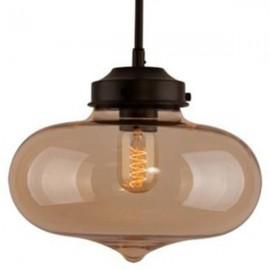 Lampa wisząca London Loft 1 bursztyn
