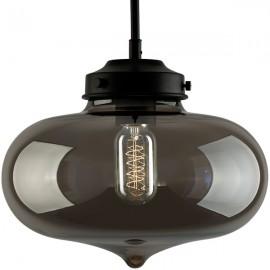 Lampa wisząca London Loft 1 smoky