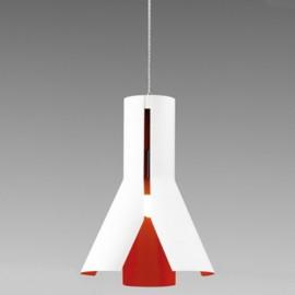 Lampa wisząca Origami Design 1 biel/pom