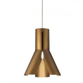 Lampa wisząca Origami Design 1 brąz
