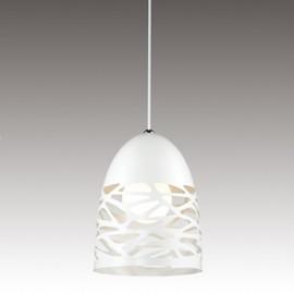 Lampa wisząca Shadows 1 biała