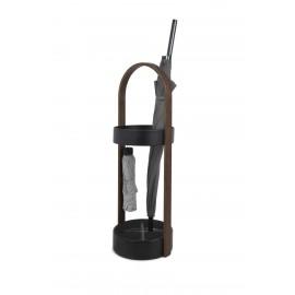 UMBRA stojak na parasolki HUB czarny - drewno metal