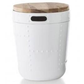 Stolik Drum biały