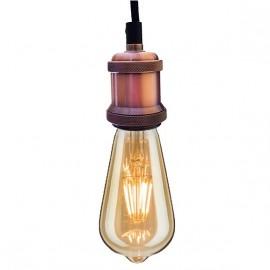 Lampa wisząca Industrial Pink Chic