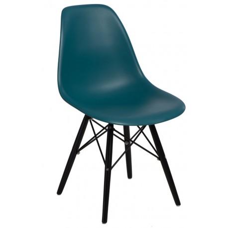 Krzesło P016W PP navy green/black