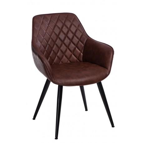 Krzesło Rox brązowe