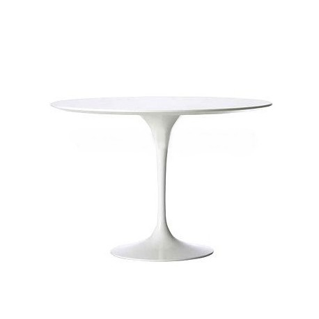 Stół Fiber o135 biały MDF