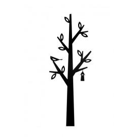 Wieszak z blachy Drzewko