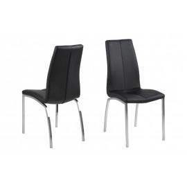 Krzesło Asama black PU