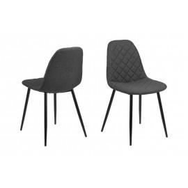 Krzesło Wilma Dark Grey