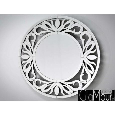 Elegancki lustro okrągłe 100x100cm JZ0811