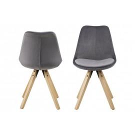Krzesło Dima dark grey