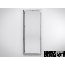 Duże lustro do pokoju stal nierdzewna 62x180cm LW-6835