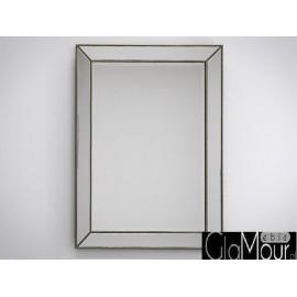Nowoczesne lustro w ramie lustrzanej 91x123cm LW-6843