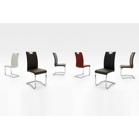 KELNY krzesło tapicerowane na płozie
