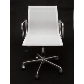 Fotel biurowy CH1171T biała siateczkchr