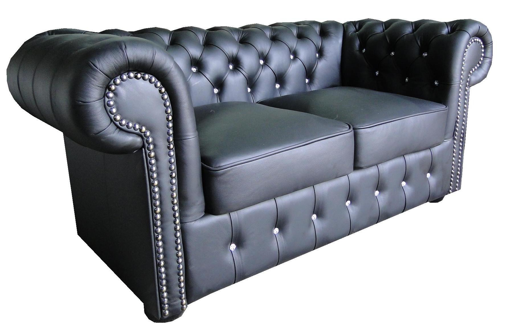 Chesterfield Sofa 2 Os Klasyk Skora Mebleglamour Pl
