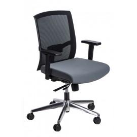 Fotel biurowy Ergo czarny/szary