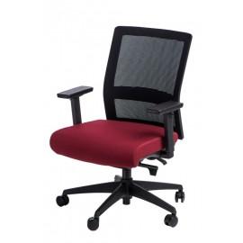 Fotel biurowy Press czarny/czerwony