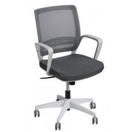 Fotel biurowy Seca G szary/szary