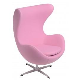 Fotel Jajo kaszmir rożowy 84 Premium
