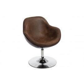 Fotel Pezzo K- brązowy S-vintage 938