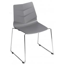 Krzesło Leaf SL szare outlet