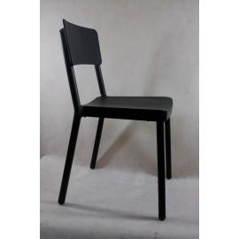 Krzesło Lisboa czarne OUTLET