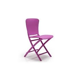Krzesło składane Zac fioletowe